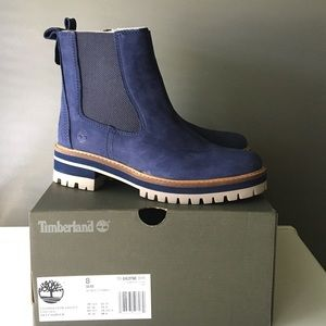 😍Timberland Courmayeur Valley Chelsea Boots
